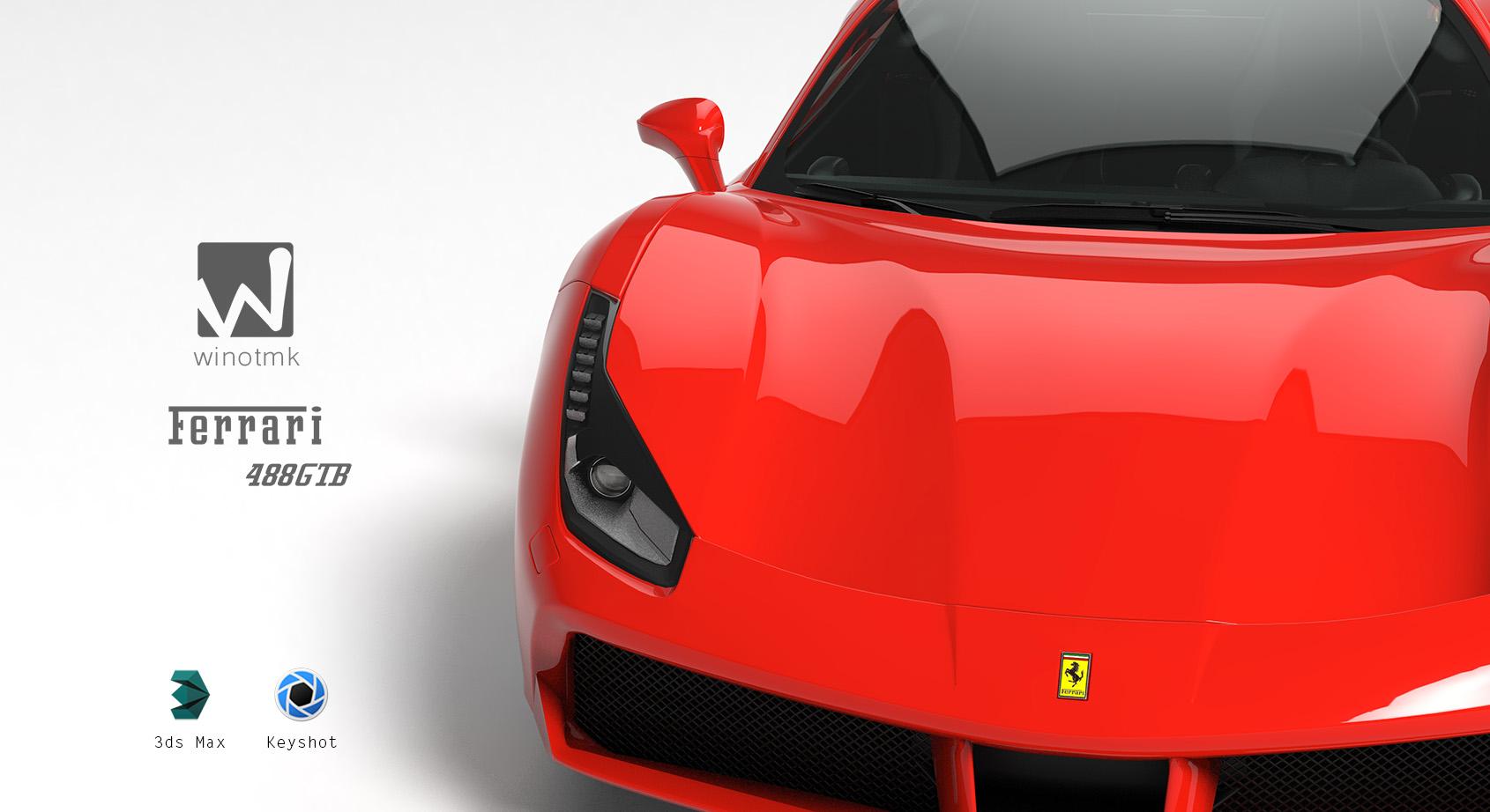 Ferrari-488GTB—制作全纪录