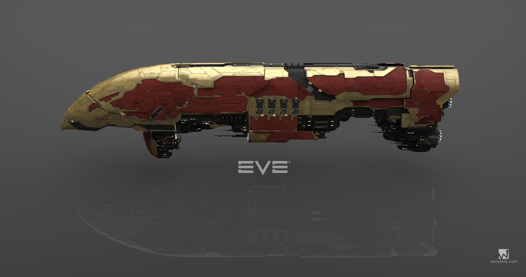 EVE模型提取及渲染